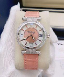 Đồng hồ nữ Chopard Imperiale dây da cao cấp