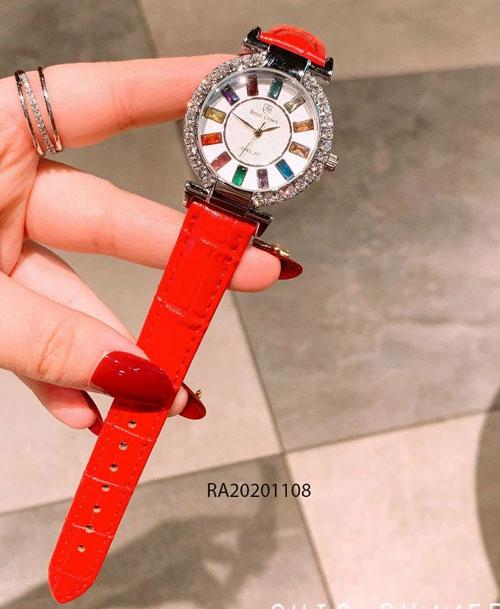 đồng hồ royal crown đính đá dây da giá rẻ