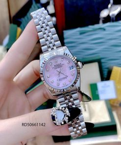 Đồng hồ Rolex DATEJUST nữ dây thép không gỉ mẫu 2021
