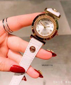 Đồng hồ versace nữ dây da cao cấp gía rẻ