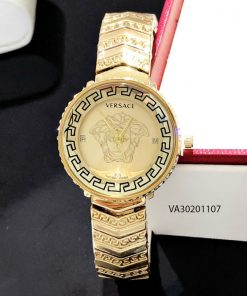 Đồng hồ versace kim loại vàng giá rẻ