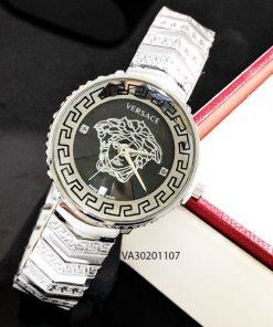 Đồng hồ versace kim loại trắng giá rẻ