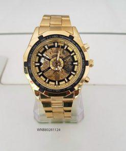 Đồng hồ nam Winner dây kim loại máy cơ tự động giá rẻ