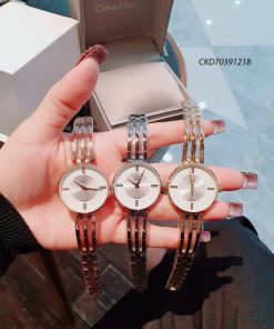 Đồng hồ Calvin Klein nữ dây kim loại cao cấp