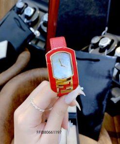 Đồng hồ Fendi Chameleon dây da cao cấp
