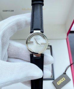 Đồng hồ Gucci Nữ Mặt chữ G dây da cao cấp