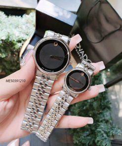 Đồng hồ cặp đôi Movado Couple dây thép không gỉ