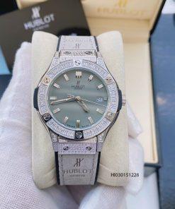 đồng hồ hublot geneve nữ dây da giá rẻ