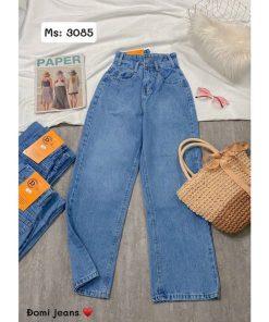 quần jean ống rộng hàn quốc giá rẻ
