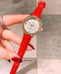 đồng hồ rolex nữ dây da cao cấp giá rẻ