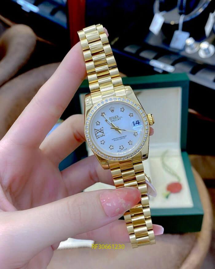 đồng hồ rolex nữ ngọc trinh giá rẻ