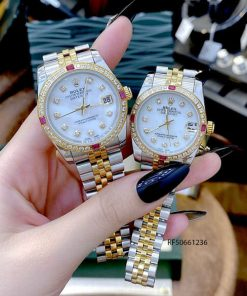 đồng hồ rolex oyster perpetual datejust quartz giá rẻ