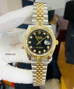 Đồng hồ Rolex nam chạy cơ Automatic dây kim loại