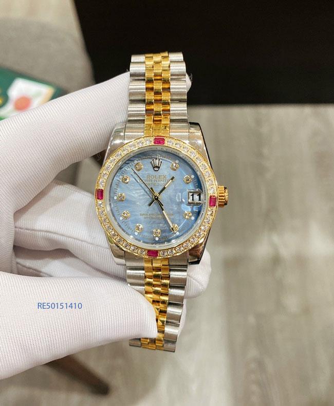 Mẫu đồng hồ rolex dây kim loại giá rẻ tại tphcm, rolex giảm 90% có thật không