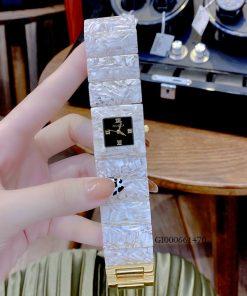 Đồng hồ Gucci Nữ Dây đá Acrylic Gucci Twirl Lady cao cấp
