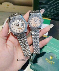 Đồng Hồ Rolex Oyster đính đá