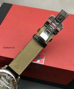Đồng hồ Tissot 1853 cơ máy lộ máy nam dây da cao cấp